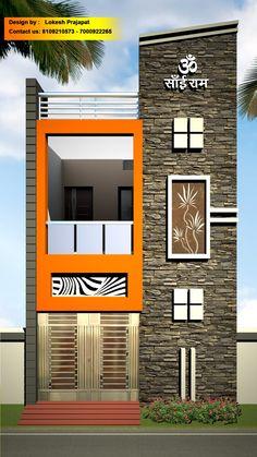 Flat House Design, House Front Wall Design, House Balcony Design, House Outer Design, Single Floor House Design, Wooden Front Door Design, Narrow House Designs, House Outside Design, House Ceiling Design