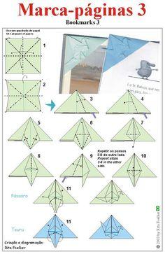 Escolhendo Seu Livro: Origami: Como fazer seu marcador de página!