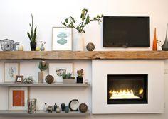 On dit qu'avoir une cheminée sans un manteau c'est comme avoir un sofa sans coussins. Découvrez dans ce post quelques idées pour embellir l'étagère du manteau de votre cheminée; q…