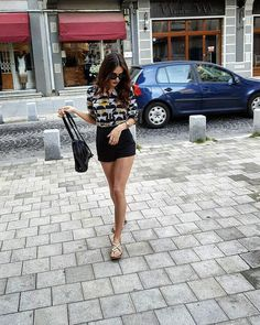 Summer (grey balance) – Cristina Bnta Shirt Dress, T Shirt, Victoria, Grey, Summer, Outfits, Dresses, Fashion, Supreme T Shirt
