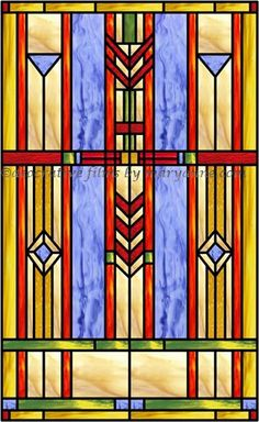 prairie 4 faux privacy stained glass clings and window films