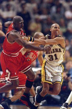 Reggie Miller vs. Jordan