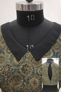 Buy Online Blouse Sewing Patterns from Blouse Guru in Seconds. with different categories of Blouse Sewing Patterns. Saree Blouse Neck Designs, Stylish Blouse Design, Fancy Blouse Designs, Dress Neck Designs, Collar Designs, Neck Designs For Suits, Latest Salwar Kameez Designs, Kurta Designs Women, Diy Clothes Design