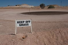MichaelW Travels...: Contributor Ridiculous Street Signs #6: Keep Off Grass- Australia