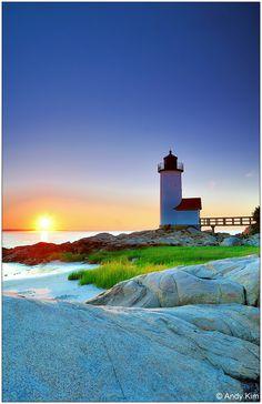 Gloucester Lighthouse Massachusetts by Andy Kim, via 500px