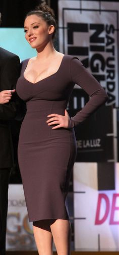 Kat Dennings | Curvy and gorgeous