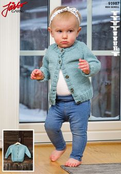 Baby basics in our Reko Bomull. Baby Barn, Baby Kids, Crochet Hats, Knitting, Lady, Sweaters, Pattern, Jackets, Crafty