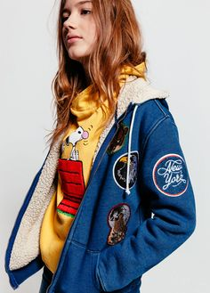 FINGER IN THE NOSE + PEANUTS CAPSULE COLLECTION Look Fall Winter 2016 2017