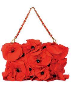 DIY poppy bag