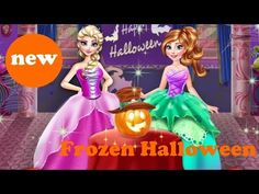 ♥ Disney Frozen Games Frozen Halloween Games For Girls Elsa And Anna Hal...