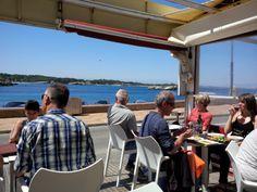 Seafood tapas, old L'Escala.