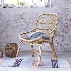 1000 ideas about chaise rotin on pinterest chaise - Chaise en osier pas cher ...