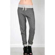 Towel Sweat Jogger Pants    MakeMeChic.com $21.40