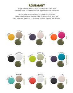 Craquez pour la nouvelle couleur Fermob : Romarin. #déco #décoration #maison #jardin #terrasse #vacances #printemps #ete #SS2016 #SS16 #design #couleur #mobilier #tendance #romarin #gris #vert #outdoor