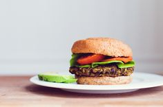 My Veggie and Bean Burgers are a staple in our house. I make them by the boatload and freeze them for easy dinners on those crazy days. Upon the advice of a good friend (you know who you are!), I d...