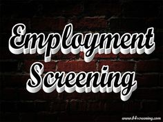 Click this site http://b4screening.com for more information on Employment Background Checks. The employer has the legal duty of providing reasonable protection to each and every employee while they are at work. Employment Background Checks help to alert employers to people who have the potential to harm his or her colleagues.