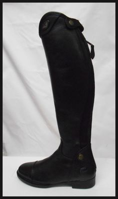 FREE S&H TuffRider Women Starter Back Zip Belmont Dress Boots, Black, Size 8 NEW #TuffRider