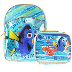 Finding Dory 'Just Keep Swimming' Backpack