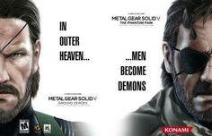Outer heaven MGSV - Not sure if this is official marketing, but it looks pretty cool