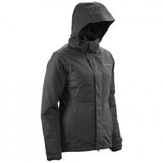 Talas Women's 2 Layer Waterproof 3 in 1 Jacket - Black