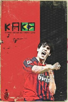 Ricardo KaKa #BallonD'or winner for #ACMilan in 2007.