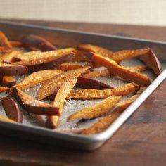 How to Make Perfect, Crispy Oven-Fried Sweet Potato Fries