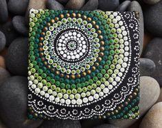 Dot Art Painting Forest Design by Raechel by RaechelSaunders
