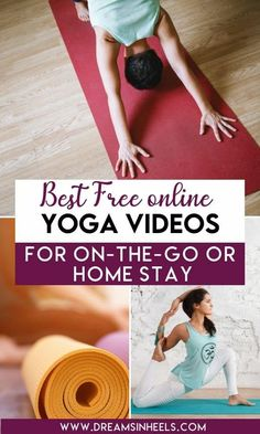 Yes, we mean free online yoga classes for all levels! Are you in? Let's get you started by highlighting the best yoga videos for when you're on-the go or your stay at home   Free Yoga Classes   Free Yoga Lessons   Work out at home   Work out on the go   Yoga at home   Yoga on the go   Things to do when bored   Productive things to do at home   Yoga for all levels   Yoga for beginners   yoga fitness   yoga poses   yoga inspiration   yoga poses for beginners   yoga videos free #dreamsinheels