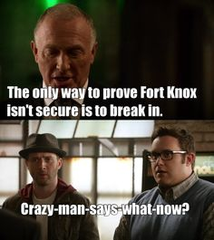 TVShow Time - Scorpion S02E22 - Hard Knox. I love how they both say it at same time:)