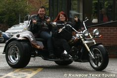 Rainbow Trike Tours works with Luke Anderson, winner of Big Brother 2012.