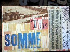 The Somme Presents For Men, Creative Skills, Mail Art, First World, Trench, Art Projects, Art Ideas, Artist, Guy Presents