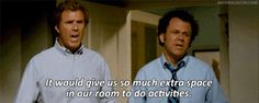 "16 Ways ""Step Brothers"" Perfectly Describes You And Your Best Friend Step Brothers Quotes, Haha Funny, Hilarious, Funny Shit, Funny Stuff, Movie Quotes, Funny Quotes, Best Love Quotes, Have A Laugh"