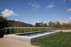 raised pool, sonoma, california