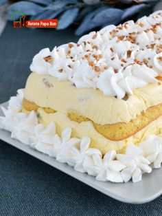 Bun Bun, Food Cakes, Romania, Sweet Dreams, Vanilla Cake, Cake Recipes, Cheesecake, Food And Drink, Cooking