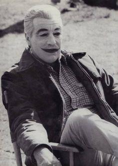 Cesar Romero as the Joker. #Batman66