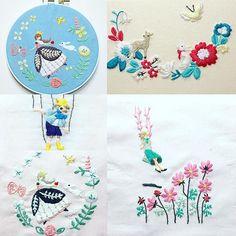 西荻窪の刺繍教室『アンナとラパン』参加者さんの作品! 青地に白雪姫もかわいいですね。 ピンクの白雪姫も! 今日は、何回かかけて作られた大作がたくさん仕上がった日でした〜 ・ ・ #刺繍 #手刺繍 #白雪姫 #snowwhite #ピノキオ #embroidered #needlework #手芸 #ステッチ #stitching #刺しゅう #暮らしを楽しむ #ハンドメイド #자수 #вышивка #broderie #ししゅう #手作り #手芸 #ハンドメイド  #刺繡 #ほっこり #刺繍部 #bordado #ステッチ #embroideryart #handembroidery