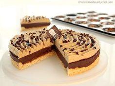Tarte au chocolat, praliné noisettes - Meilleur du Chef