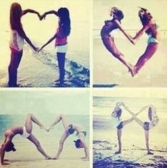 I really really would like to do these poses with my bestfriend ♥