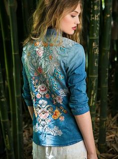 Little Treasures: Embroidered Clothes Inspiraton