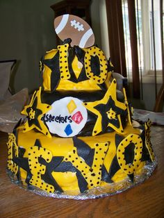 pictures of the steelers   The Cake Ninjas
