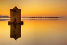 Windmill, Orbetello, Tuscany, Italy, by AndreaPucci.