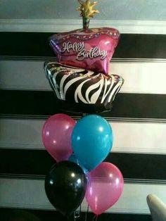 #monster high #theme #balloons #bellissimoballoons