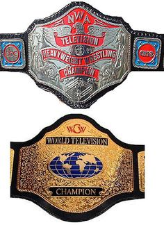 Respect The WCW World Television Championship, SON! | The PractitioNERD