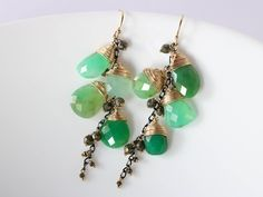 20% SALE Green Chrysoprase Earrings, Mixed Metals Earrings, Rough Chrysoprase Earrings Raw Chrysoprase Earring, Gold Green Gemstone Earring #StudioVK #Etsy #SaleEarrings #RawGemstone #GreenGemstone #ChrysopraseEarrings #GreenChrysoprase #GoldGreen #ModernEarrings #MixedMetals #RoughChrysoprase #RawChrysoprase #RoughGemstone #MetalsEarrings #GemstoneEarring