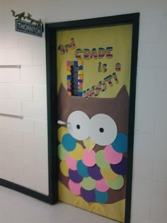 Owl Themed Classroom Bulletin Board | BULLETIN BOARDS and CLASSROOM DECORATIONS / door for owl theme