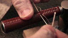 Turnstyle Designs hand made leather door lever in production en Vimeo