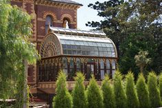 Victorian conservatory.