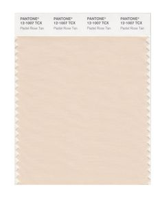 Pantone Smart Swatch 12-1007 Pastel Rose Tan. Use as neutral, far from face!