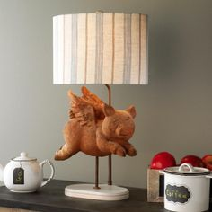 When Pigs Fly Table Lamp