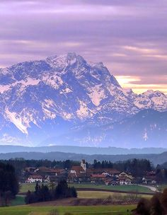 Zugspitze, the highest mountain in Germany.
